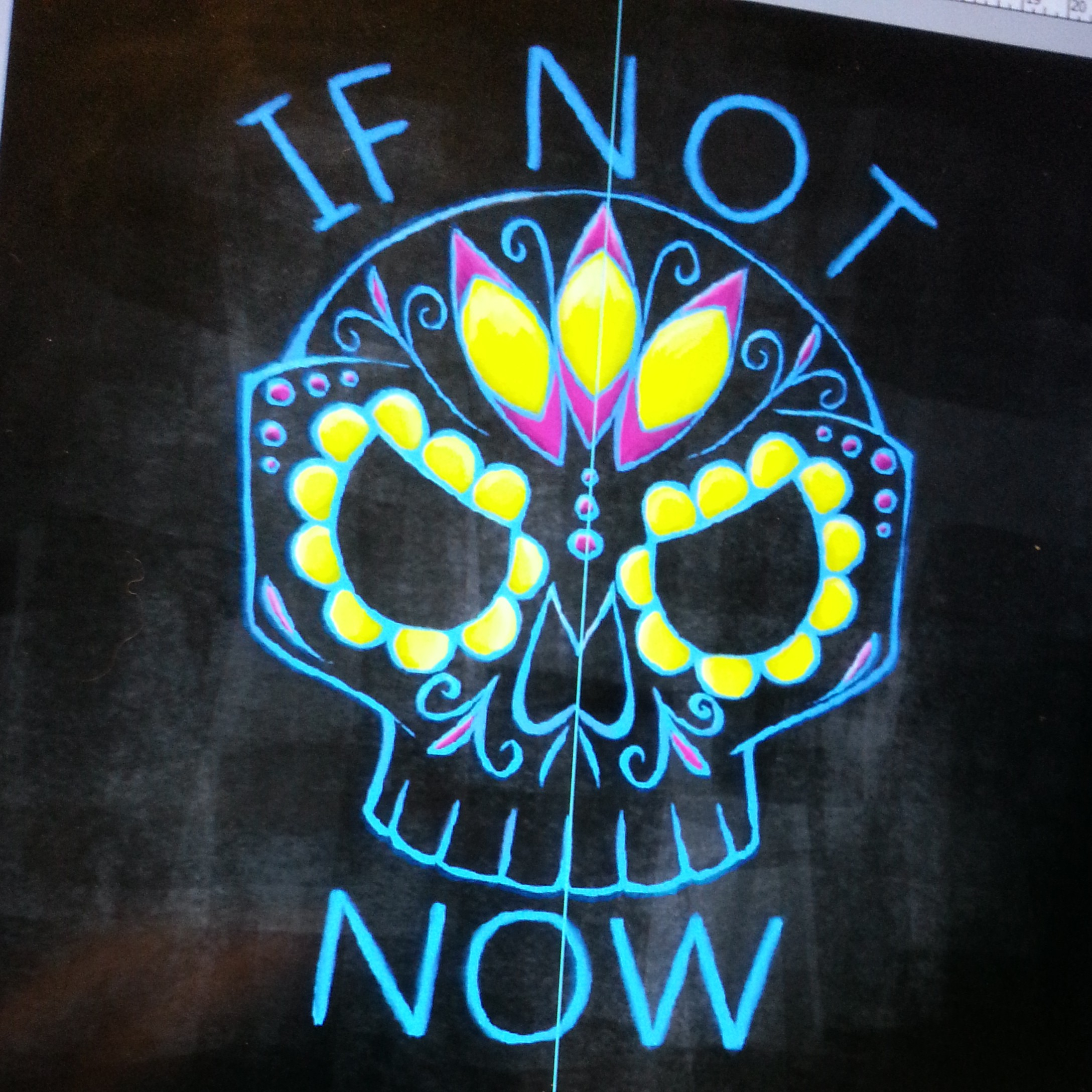 If Not Now Sugar Skull